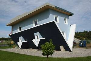 'The World Stands on its Head' House