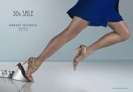 Stiletto-Heeled Shopping