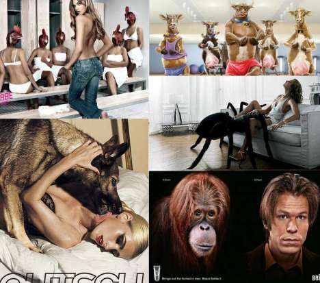 40 Animalistic Ads