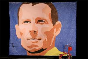 Lance Armstrong Tricycle Art