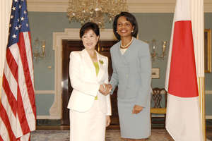 Yuriko Koike Candidate for Japan's Top Spot