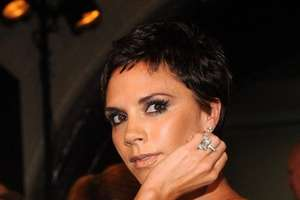 Victoria Beckham Goes Short and Spikey