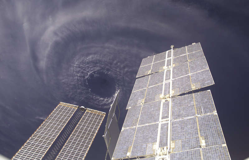 Storm Photography from Space