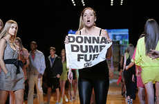 Activists vs Fashion Industry - PETA Protests Donna Karan