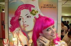 Eccentric Designer Dolls - Hello Kitty's Tarina Taratino As A Barbie