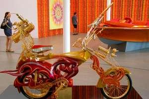 Dzine Lowrider Bike Sculptures