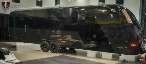 Carbon Fiber Campers - The Luxurious CR1-Carbon Camper is Stronger and Lighter Than Regular RVs