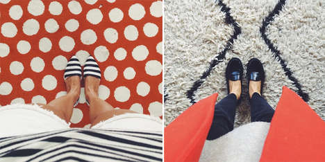 Aerial Shoe Photo Accounts - An Instagram Photo Account of Shoes is Endlessly Entertaining