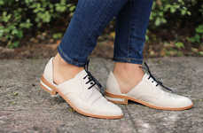 Understated Oxford Accessories - Freda Salvador's Footwear Collection Boasts Classically Chic Pieces