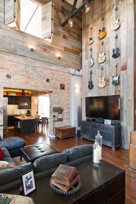 Vintage Melodic Homes - This Music-Inspired Loft is Homey, Charming and Authentic