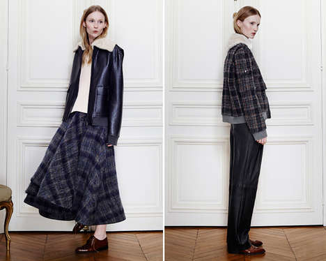 Re-Adapted American Attires - Brock Fall 2014 Reinvents American Classics with Alternative Patterns