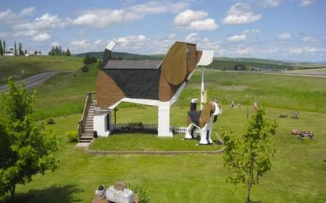Canine-Shaped Accommodations - The Dog Bark Park Inn is Made for Ultimate Dog Lovers