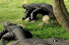 Rubber Tread-Marked Animals