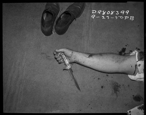 Vintage Crime Scene Photographs - LAPD Archives by Merrick Morton Provides a Rare Glimpse into Past