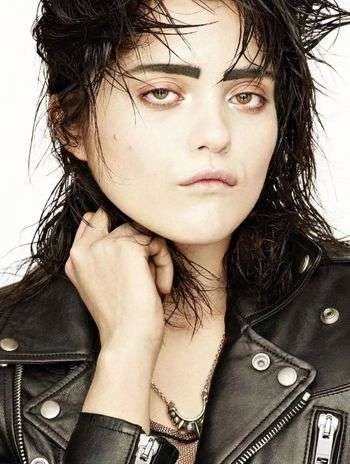 Lackadaisical Rocker Editorials - Sky Ferreira Posed for the L