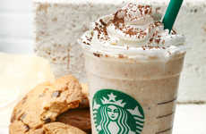Caffeinated Cookie Drinks - Starbucks Japan is Now Blending in an Entire Chocolate Cookie in a Drink