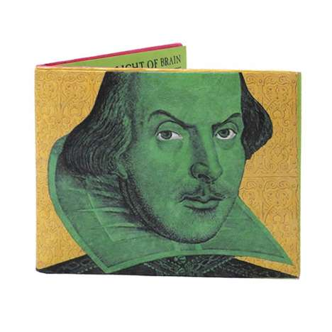 Literary Diss Wallets - This Philosophers Guild Wallet is Laden with Shakespearean Insults