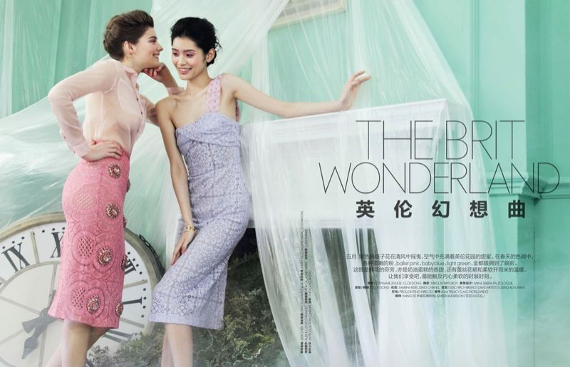 Ethereal Brit-Inspired Editorials