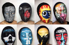 Album Cover Facepaintings