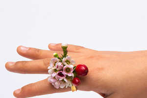 This 'Spring Rings' Collection of Flowery Rings is Adorably Bohemian