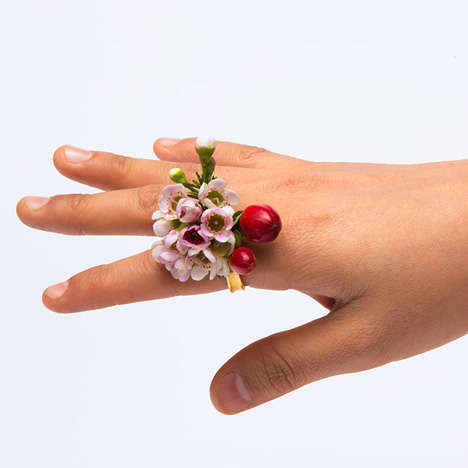 Hippie Flower Rings - This