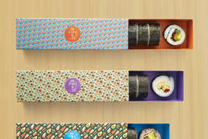 Maki-San's New Sushi Box Packaging is Arranged Like French Macarons