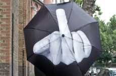 Suggestively Offensive Umbrellas - The F*ck You Umbrella is the Best Spring Umbrella for Rain-Haters