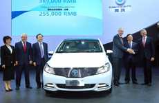 Trailblazing Electric Cars - The Versatile 'Denza' is China's First All-Electric Vehicle