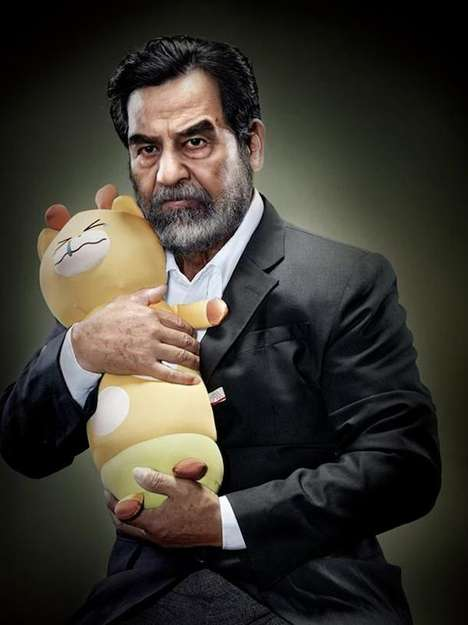 These Dictator Photos Show World Leaders Holding Stuffed Animals