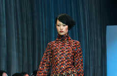Luxe Knitted Couture - Zhang Na's FAKE NATOO Brand Features Warm Wool Fashions