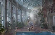Wealthy Servitude Photography - In Service by Julia Fullerton-Batten Focuses on the Edwardian Era