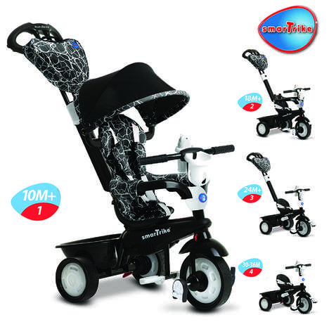 Transformative Stroller-Trikes - The Smart Trike Changes to Serve the Growing Needs of Kids