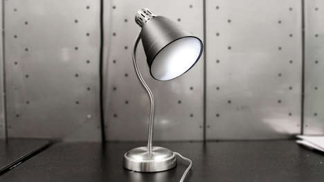 Eavesdropping Social Media Lamps - The Conversnitch Lamp Exposes Conversations to Social Media