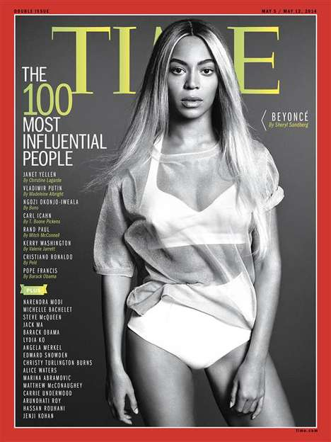 Queen Bee Covers - The Beyonce TIME Cover Solidifies the Superstar as Powerful Royalty