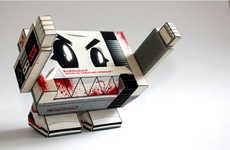 From Paper Animal Faces to App-Controlled Paper Airplanes