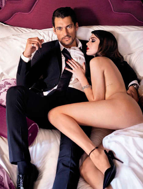 Intimate Liaison Editorials - David Gandy is a Tall Drink of Water for Vanity Fair Spain