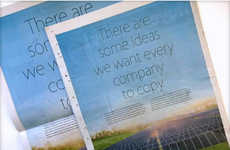 Competitor-Slamming Print Ads - This Apple Print Advertisement Shames One of Its Biggest Rivals