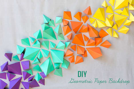 22 Paper Home Decor Ideas - From DIY Paper Product Projects to Festive Fruity Paper Decorations