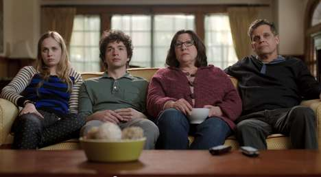 Awkward Family TV Ads - This Ad for the HBO GO App Shows How Uncomfortable Parents Make Everything
