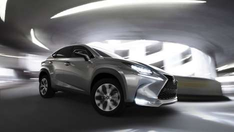 Turbocharged Luxury Crossovers - The Lexus NX Crossovers Blend Powerful Performance & Elegant Design