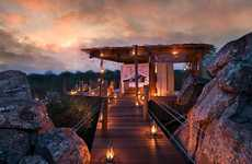 25 Hilltop Resorts - From Cliff-Integrated Pod Resorts to Luxurious Mountain Retreats