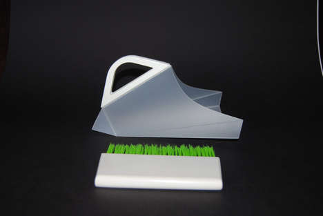 Origami-Inspired Dustpans - The Innovative Product Design of the Oripan Marries Function and Form