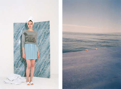 Printed Photographic Fashion - The Paloma Lanna Paloma Wool Line Features Snapshots