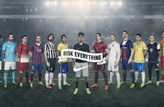 Fantasized Soccer Ads - Nike's New World Cup Ad Taps into Players' Passion for the Sport