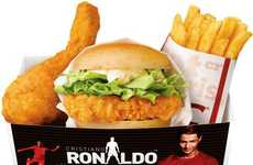 Sports Star Chicken Meals - KFC Japan Celebrates a Soccer Icon with the Cristiano Ronaldo Pack