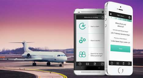 Airline Refund-Attaining Apps - AirHelp Gets You Air Travel Compensation From Delayed Flights