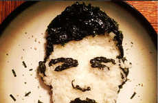 Edible Pop Culture Portraits - Instagram User Tisha Cherry Recreates Famous Faces With Food