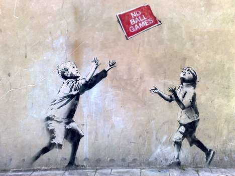 Stolen Street Art Auctions - 'Stealing Banksy?' is an Exhibition and Auction of Banksy's Street Art