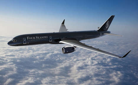 Hotel-Like Jets - The Four Seasons Jet Brings the Company