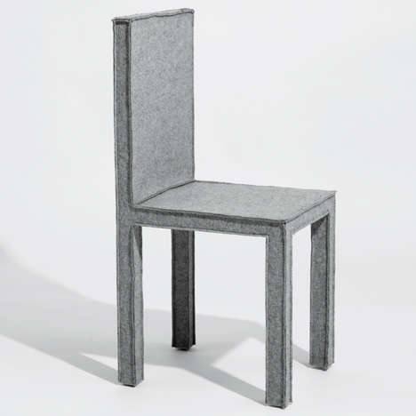 Fashionably Felt Chairs - The
